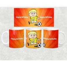 Age Mug - our little footballer