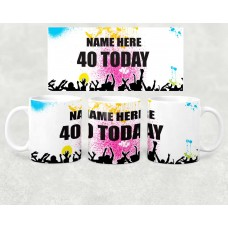 Age Mug - birthday today