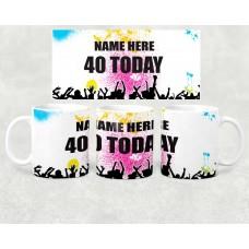 Age Mug - birthday today