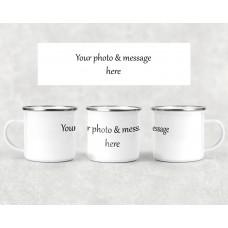 Personalised Camping Mug - custom design