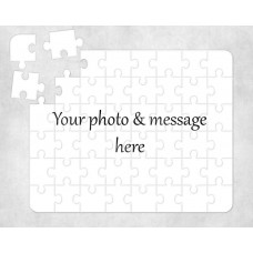 Personalised Wooden Jigsaw Puzzle - A3 60 piece custom design