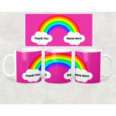 Hero Mug - Rainbow Clouds