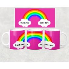 Hero Mug - Rainbow Clouds