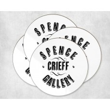 Personalised Coaster Round - logo
