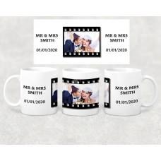 Wedding Mug - celebrate the date