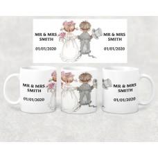 Wedding Mug - Wedding celebration