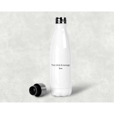 Personalised Hot & Cold Water Bottle 500 ml - custom design