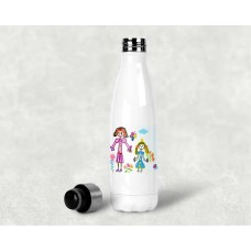 Personalised Hot & Cold Water Bottle 500 ml - memories