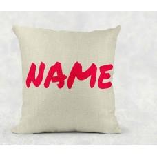 Personalised Cushion - name